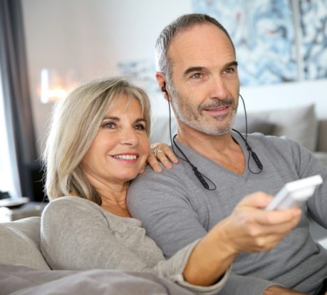 BeHear NOW assistive hearing amplifier for TV watching