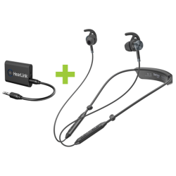 HearLink Bluetooth TV and Audio Transmitter with BeHear NOW