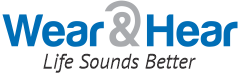 Wear and Hear Life Sounds Better logo