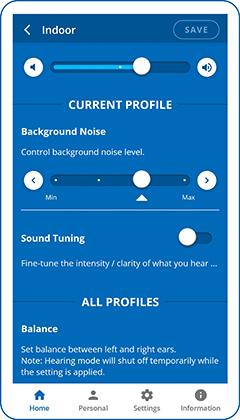 Sound Tuning options
