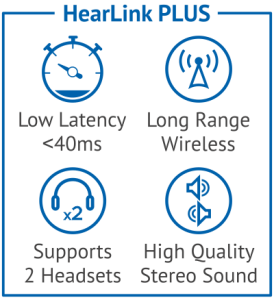 HearLink PLUS attributes as icons