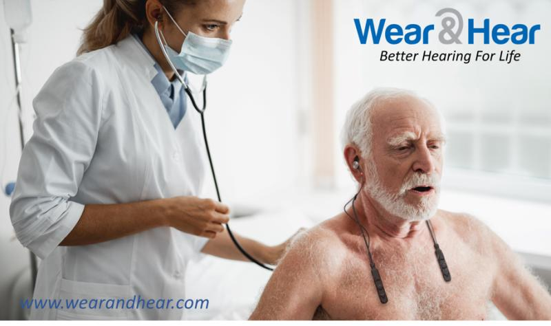 Using BeHear ACCESS personalized hearing headset in medical situations