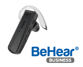 BeHear BUSINESS monaural personalized hearing headset