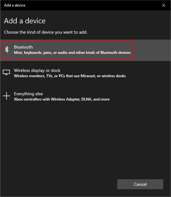 Add a Bluetooth device on Windows PC - part 2