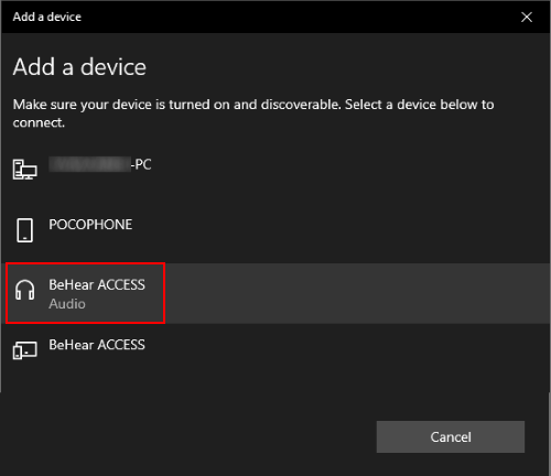Add a Bluetooth device on Windows PC - part 3