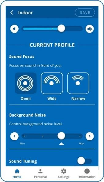 behear sound focus